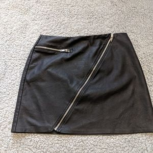 Kendall & Kylie  brand pleather skirt